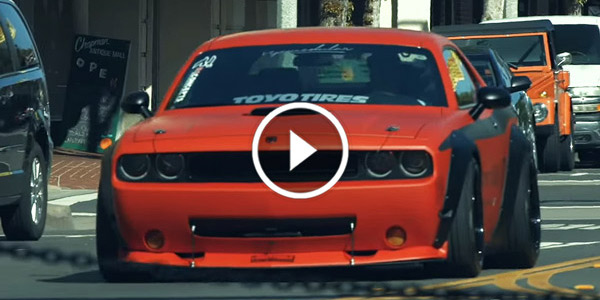 widebody challenger hellcat by lb performance