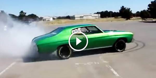 Someone Better Call The Fire Department This Chevy Chevelle Is On
