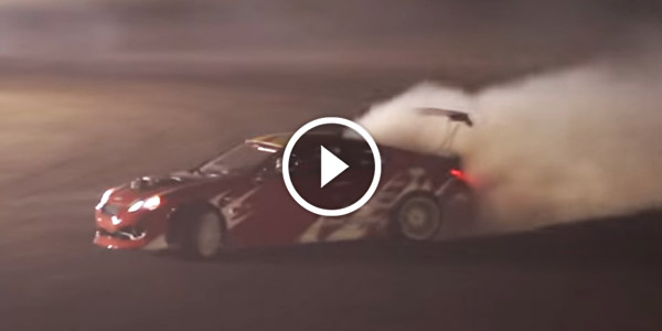 1000 HP HYUNDAI GENESIS COUPE Drift Car Fire
