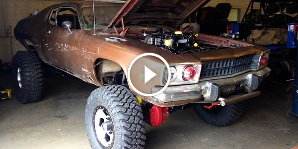 Plymouth Road Runner DIESEL PLYMOUTH Swap 4x4 Conversion