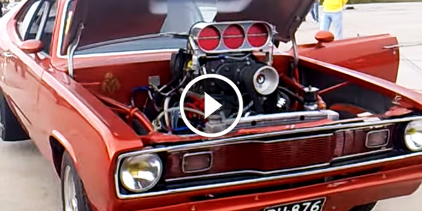 70 800hp Blown 1970 PLYMOUTH DUSTER sound
