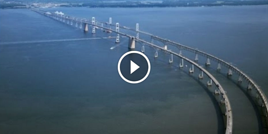 Could This Maryland Bridge Be The Scariest Bridge In America