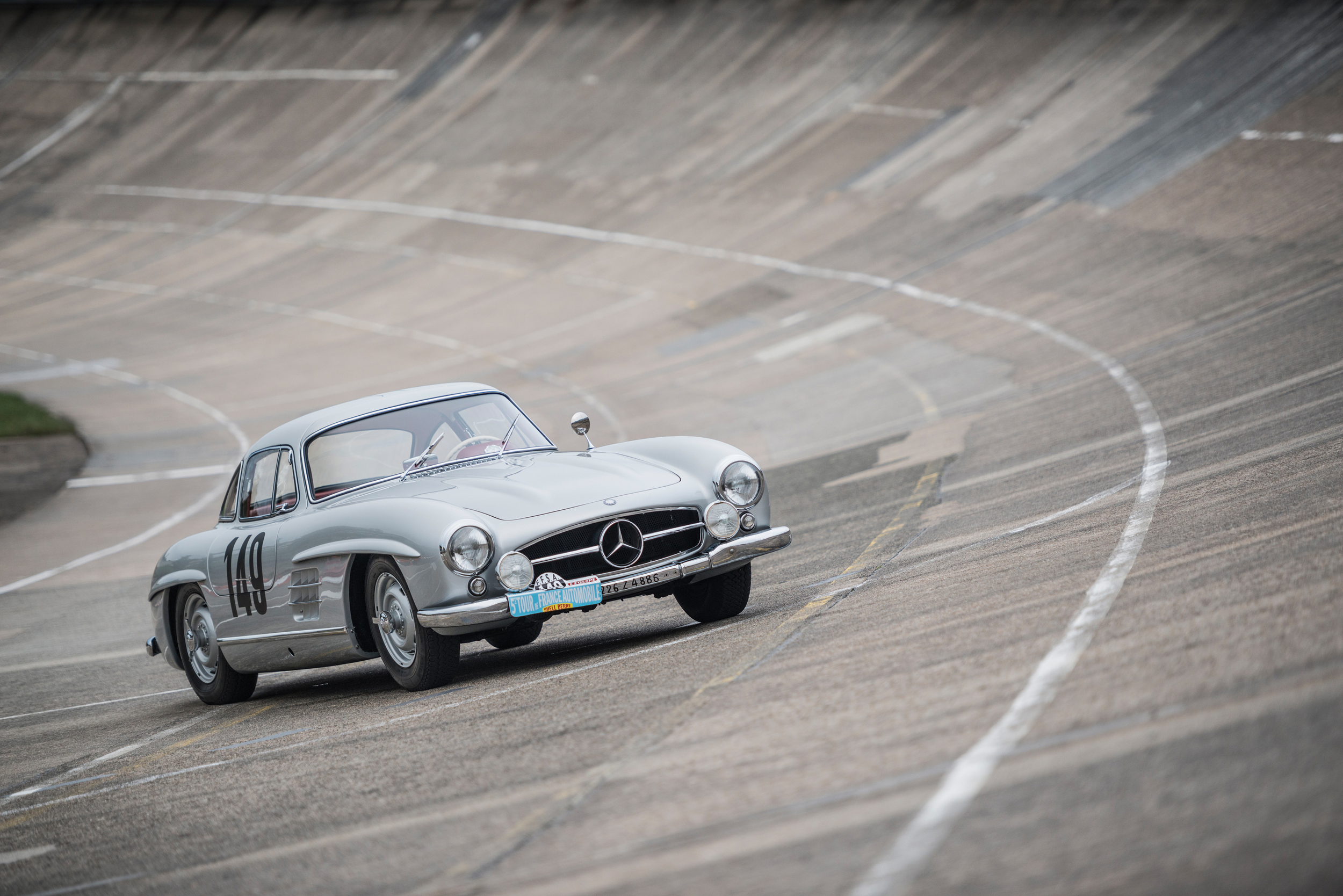 1955 Mercedes Gullwing Goes On Auction In December 4