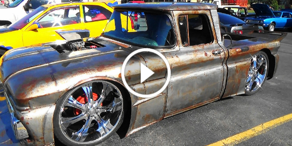 1962 CHEVROLET C10 TRUCK Spotted At Pigeon Forge Rod Run 12
