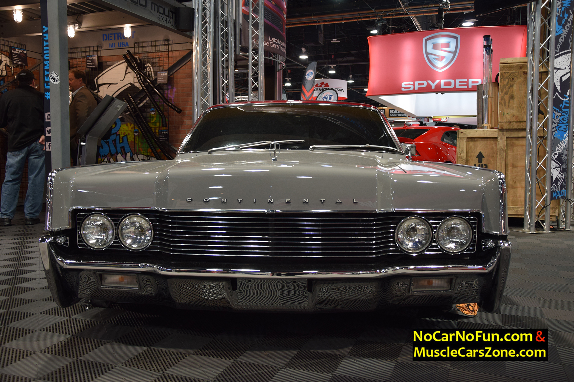 1966 Lincoln Continental Coupe ARCH ANGEL - 2015 SEMA Motor Show ...