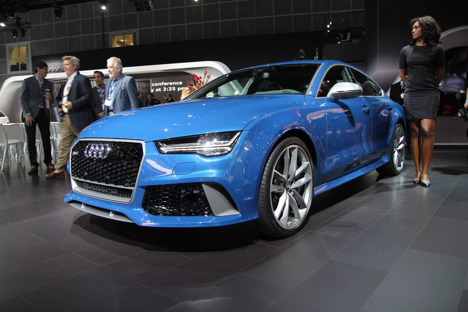 2016 Audi RS7 Performance At LA Show 1