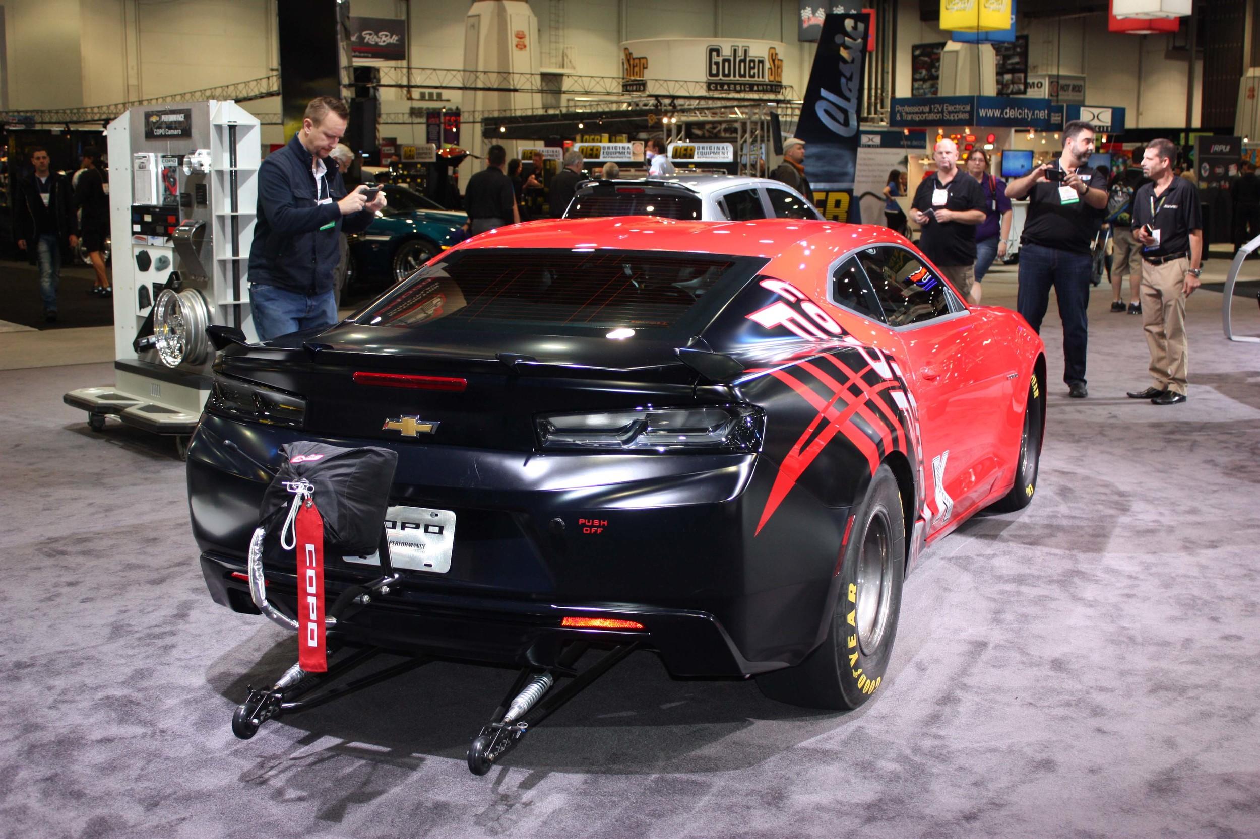 2016 Chevrolet Copo Camaro Sema Cover Muscle Cars Zone