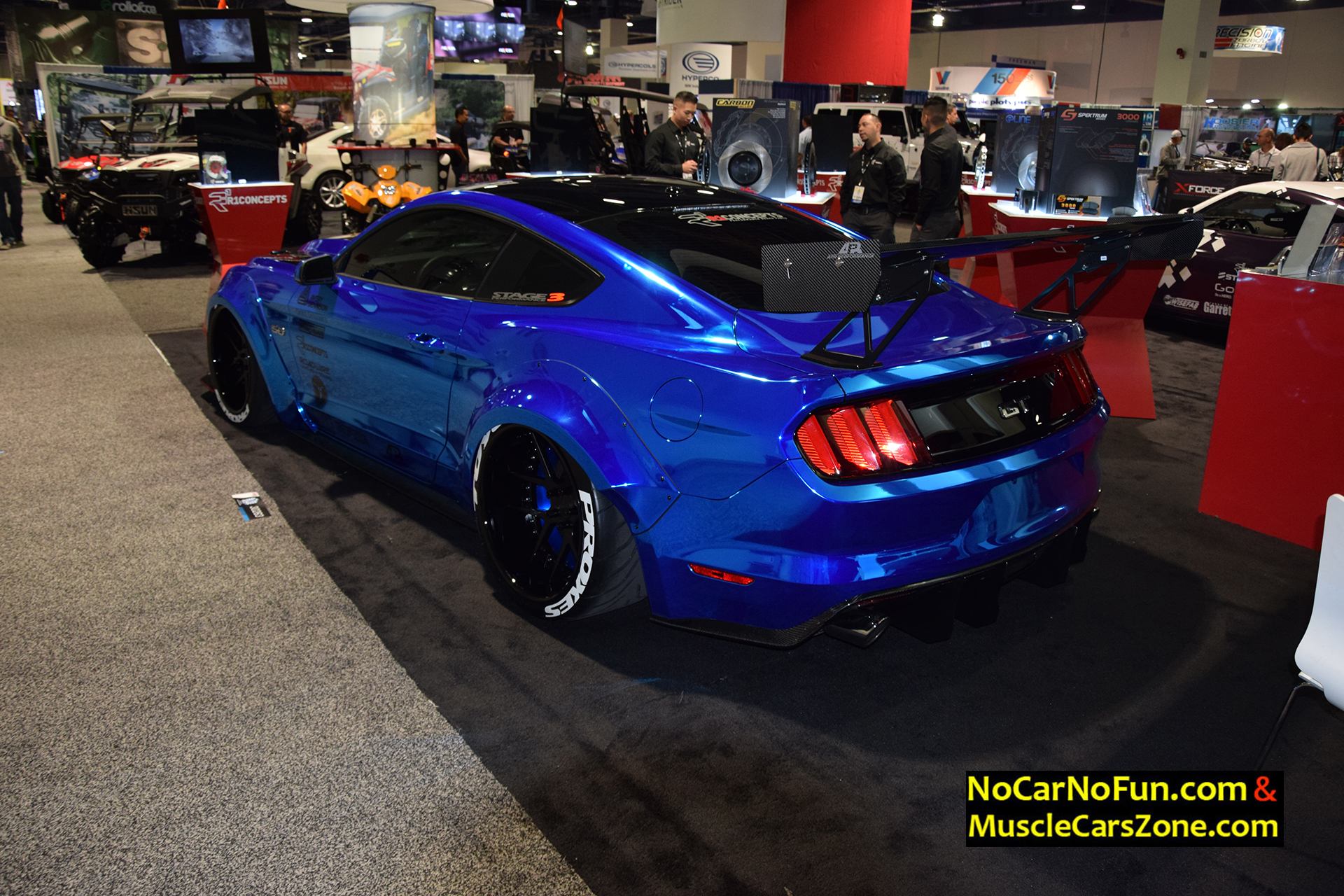 2016 Ford Mustang GT With Vortech Supercharger \u0026 Toyo Tires - 2015 SEMA  Motor Show