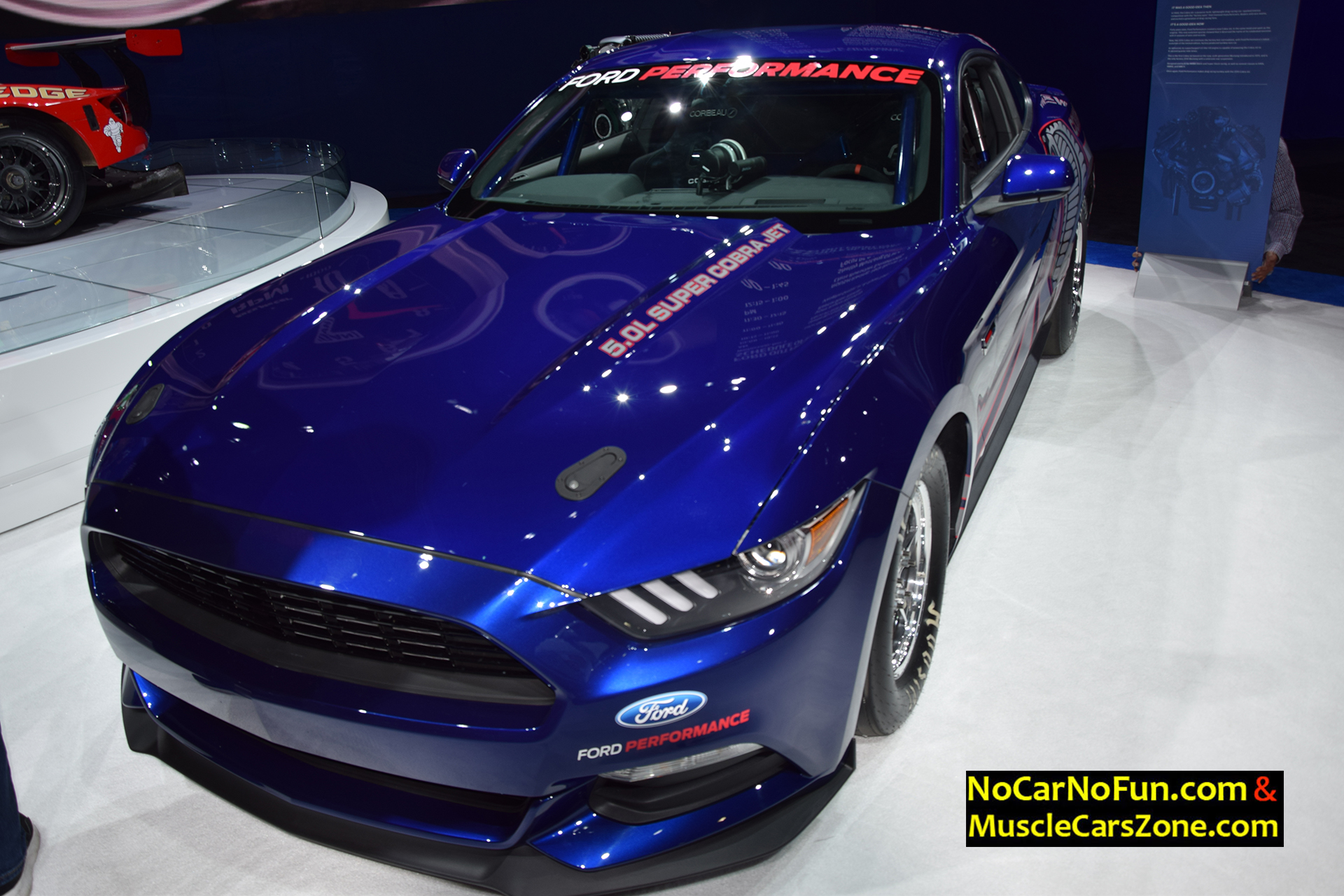 2016 ford mustang shelby cobra jet 2015 sema motor show 2 muscle cars zone. Black Bedroom Furniture Sets. Home Design Ideas