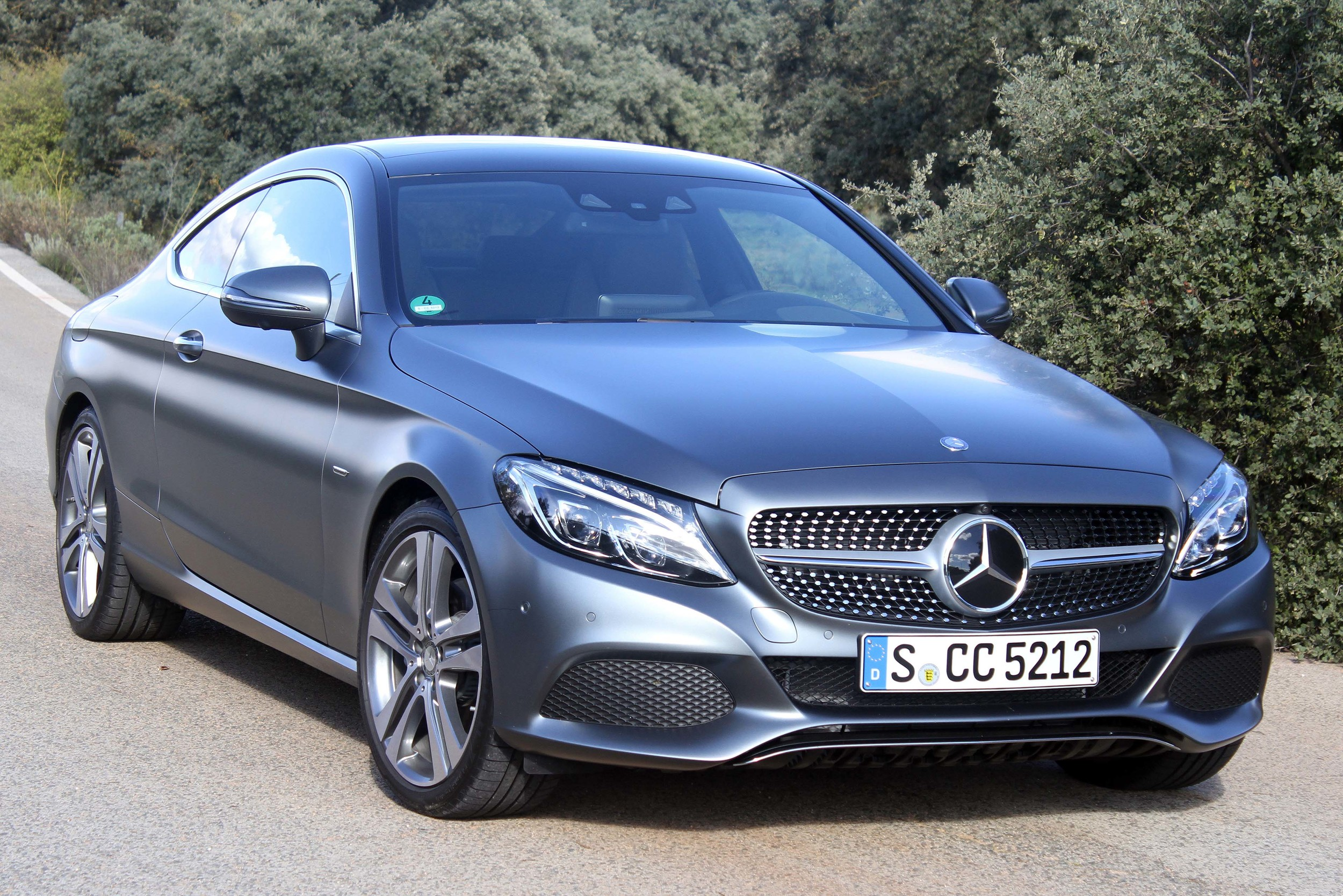2017 Mercedes Benz C 300 Coupe Quick Spin 2