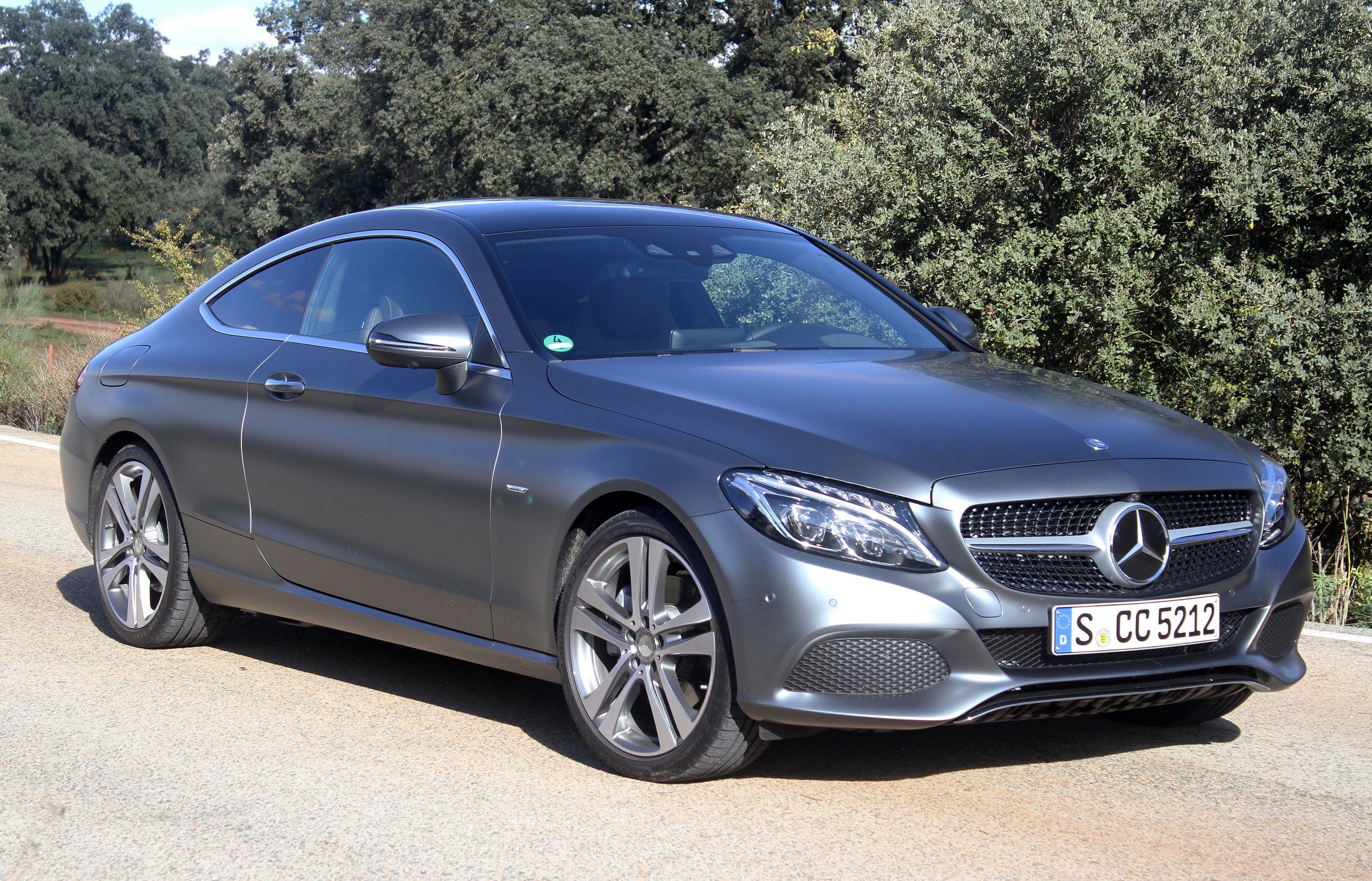 2017 mercedes benz c 300 coupe Quick spin cover
