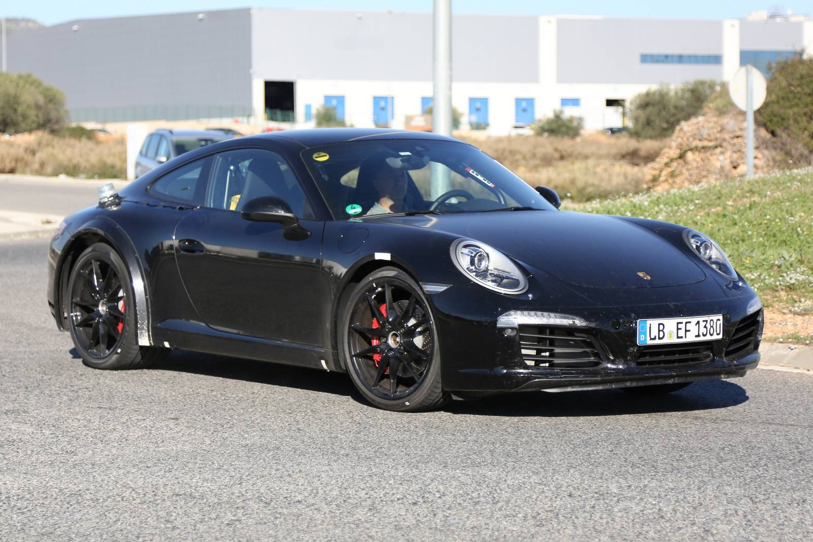 2018 Porsche 911 Spy Images 5