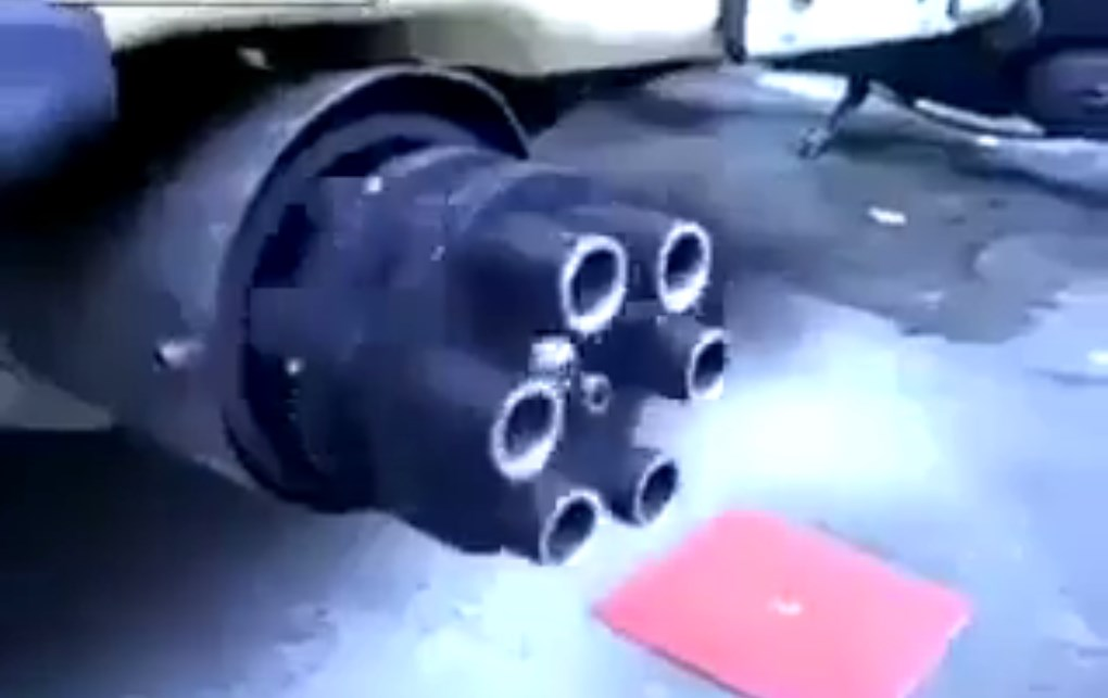 Be The Real Life JAMES BOND With This Innovative Exhaust! MUST SEE This Rotating MACHINE GUN Exhaust 2