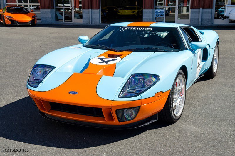 Cats Exotics Is Selling A 2006 Ford GT Heritage Edition For $374,888 1