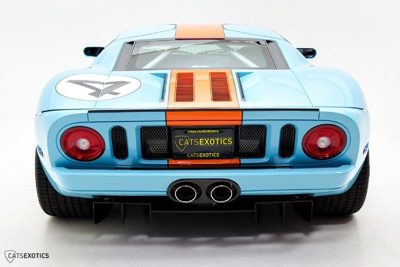 Cats Exotics Is Selling A 2006 Ford GT Heritage Edition For $374,888 2