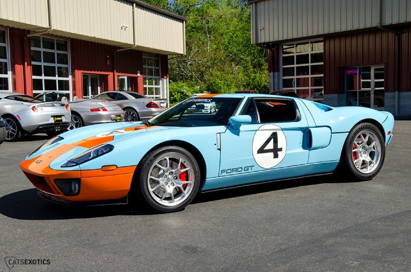 Cats Exotics Is Selling A 2006 Ford GT Heritage Edition For $374,888 5