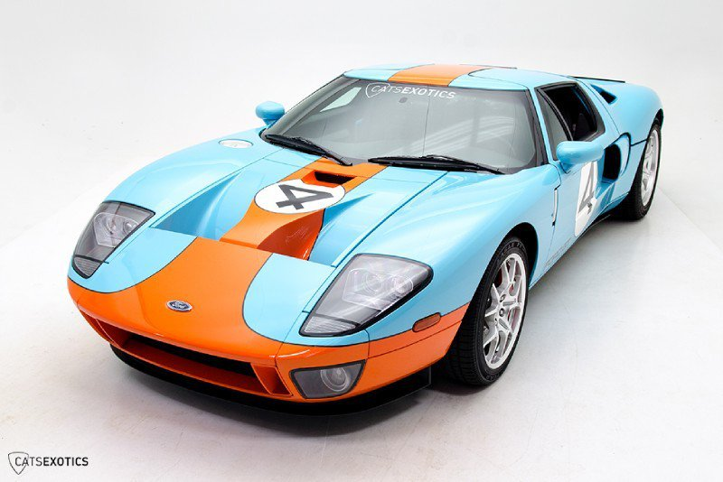 Cats Exotics Is Selling A 2006 Ford GT Heritage Edition For $374,888 6