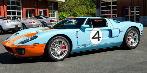 Cats Exotics Is Selling A 2006 Ford GT Heritage Edition For $374888 cover