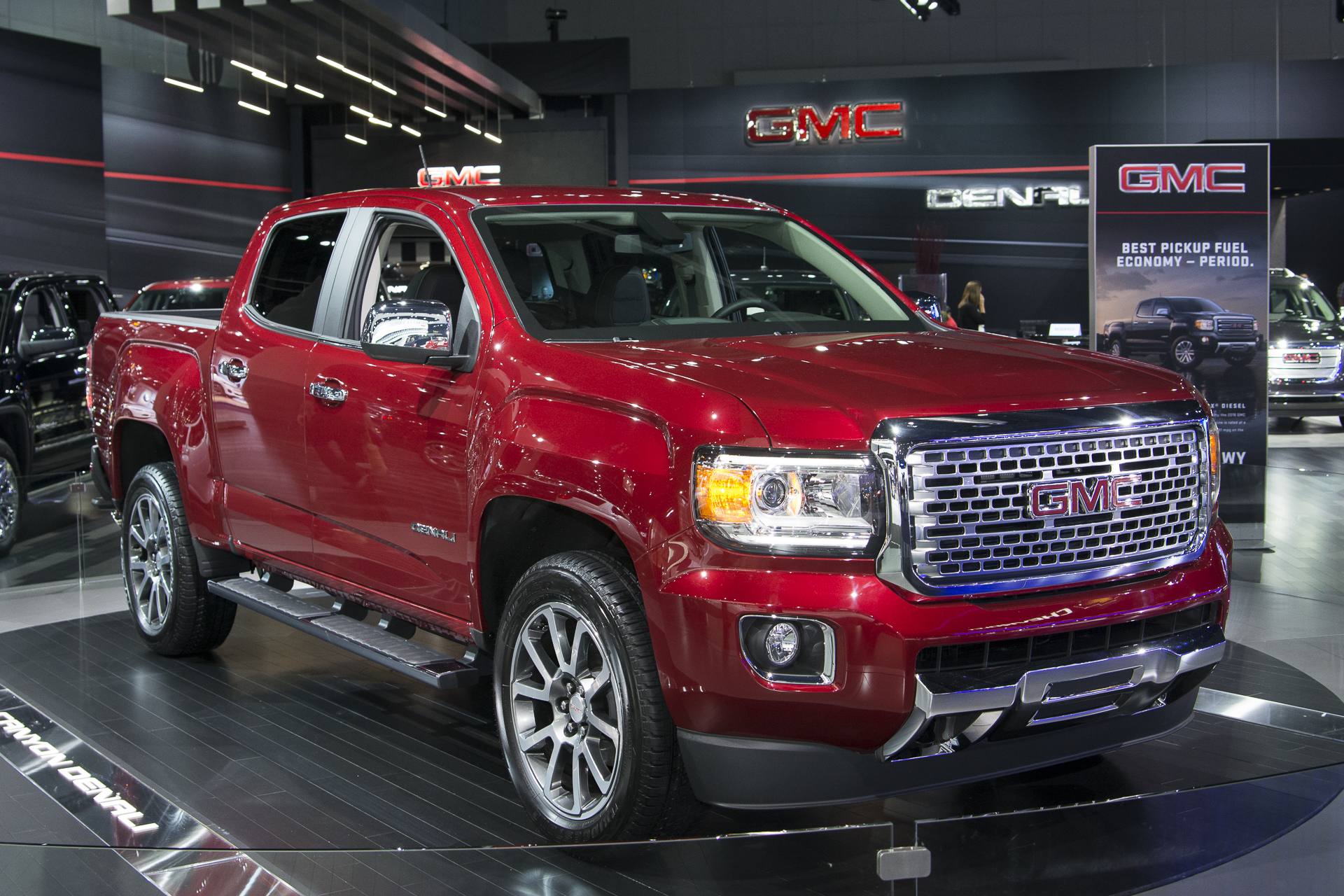 Diesel And Gasoline 2017 GMC Canyon Denali 1