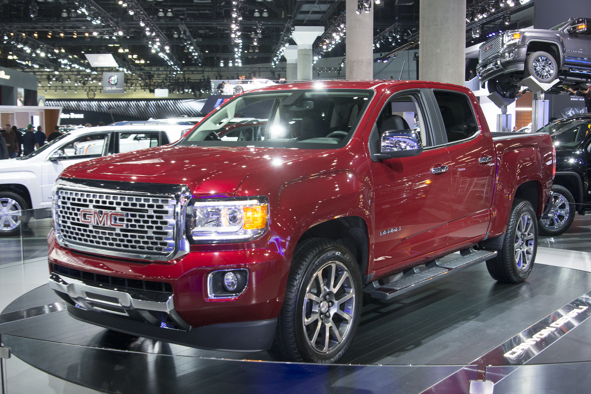 front gmc review s quick take news it diesel magazine canyon three quarter automobile slt nice