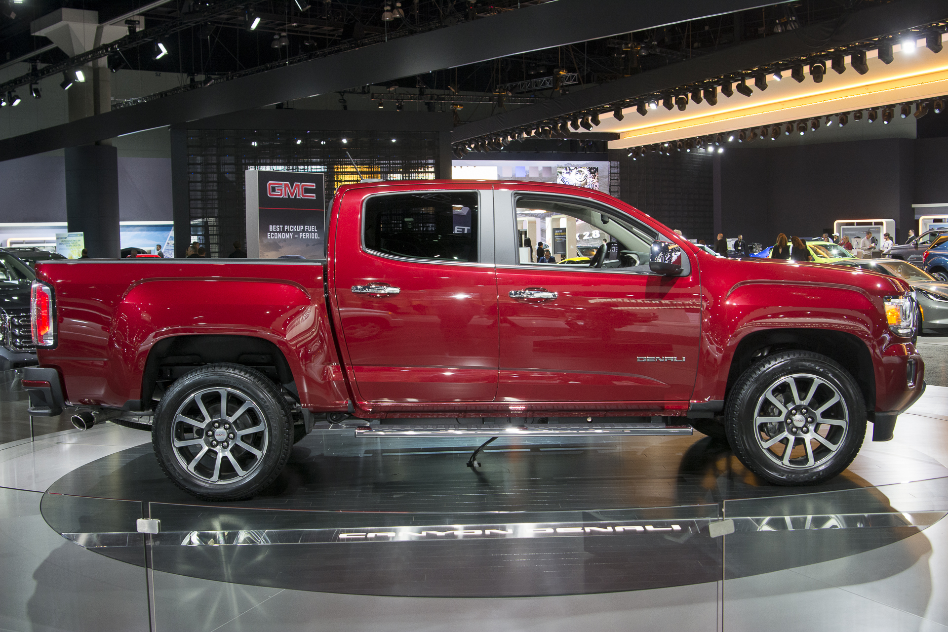 Diesel And Gasoline 2017 GMC Canyon Denali 5