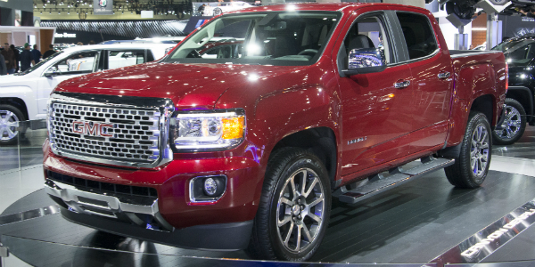 Diesel And Gasoline 2017 GMC Canyon Denali cover