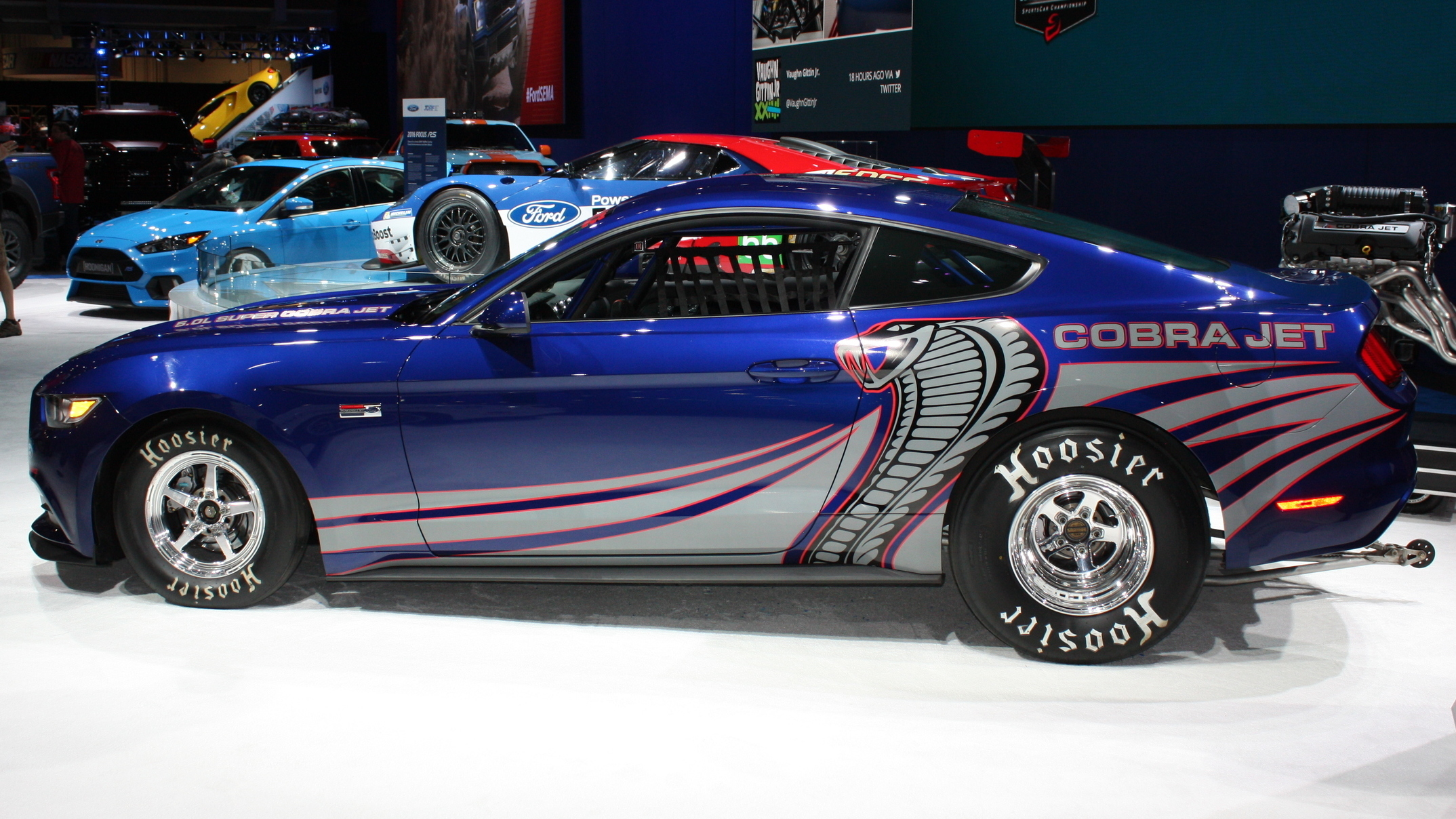 Ford Cobra Jet Mustang  Seconds For Quarter Mile