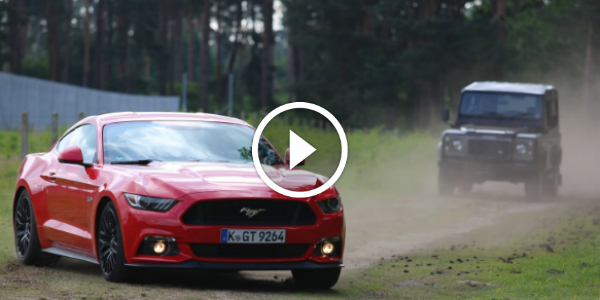 Ford MUSTANG Is The Best Stunt Car According To Former Stig!