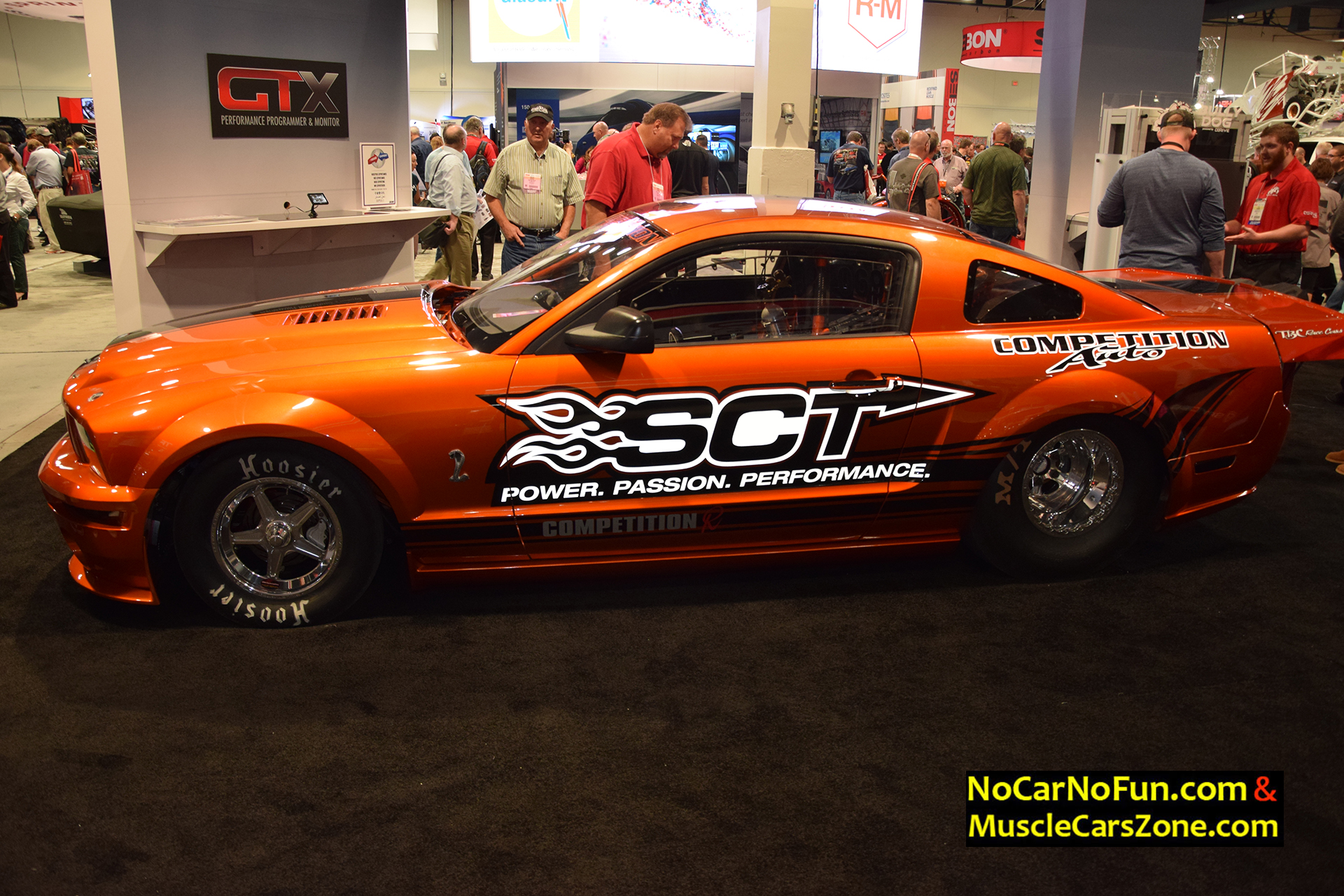 Ford Mustang Sct Competition Auto Tbc Drag Race Cars Sema Motor Show