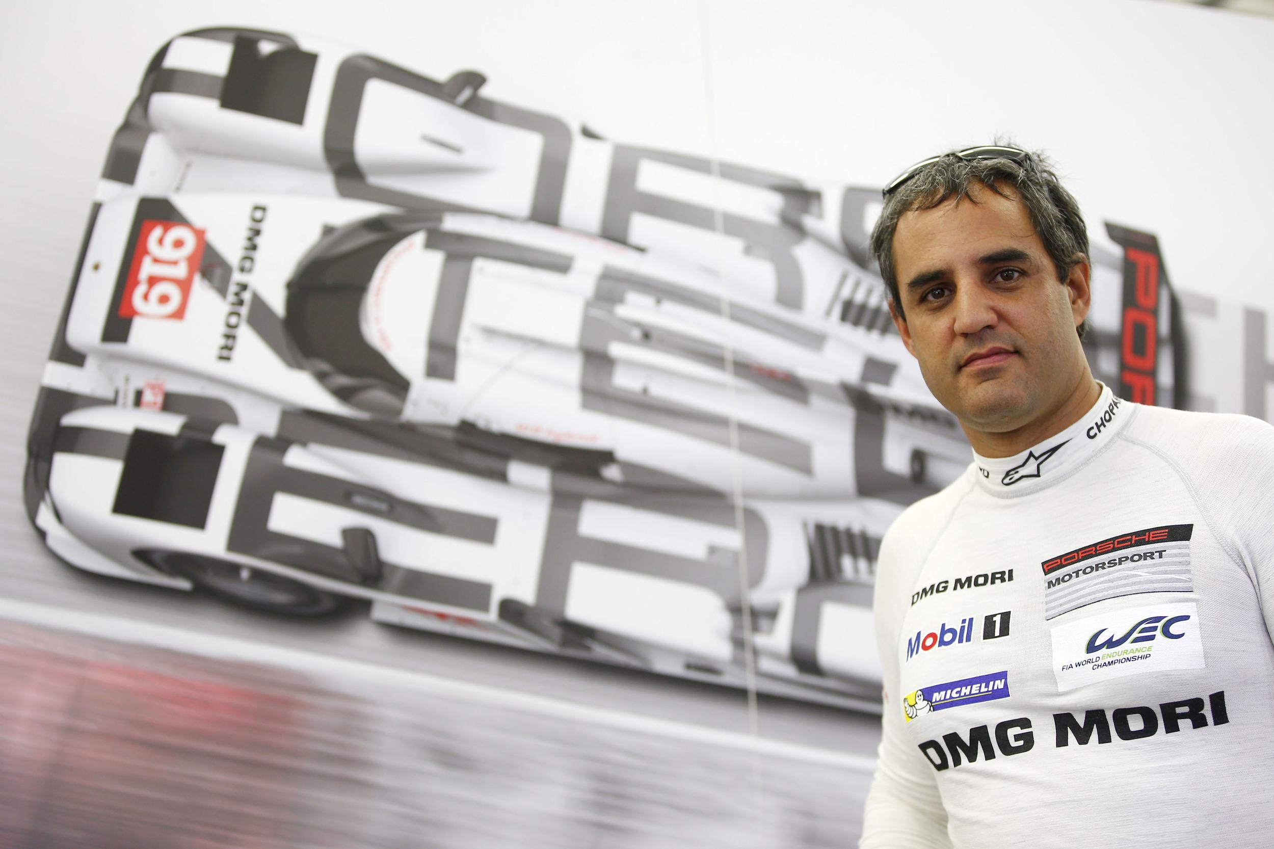 Juan Pablo Montoya In A Porsche 919 Hybrid 9