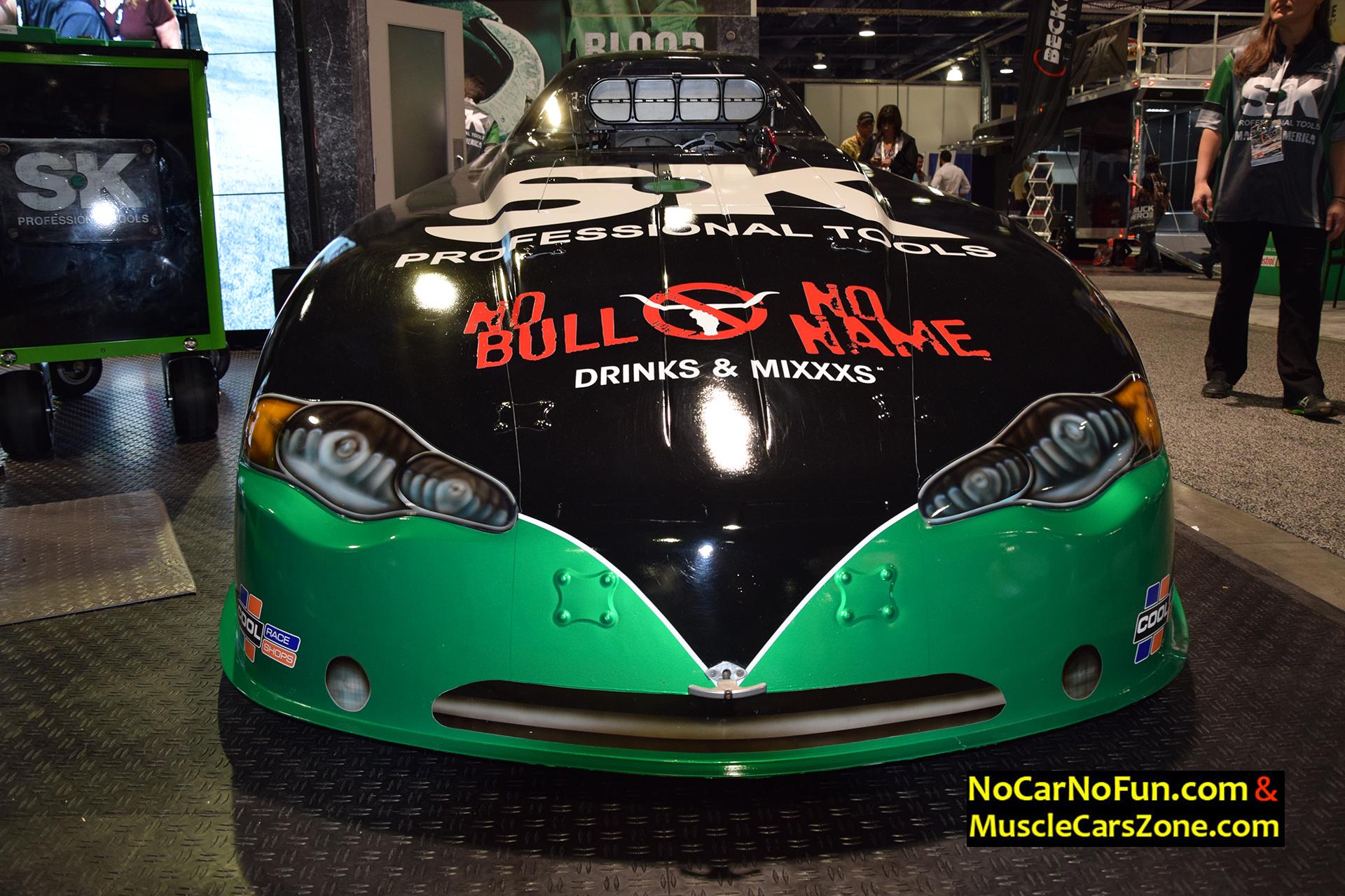 Mopar Blown Drag Racing Car by SK Professional Tools - 2015 SEMA ...