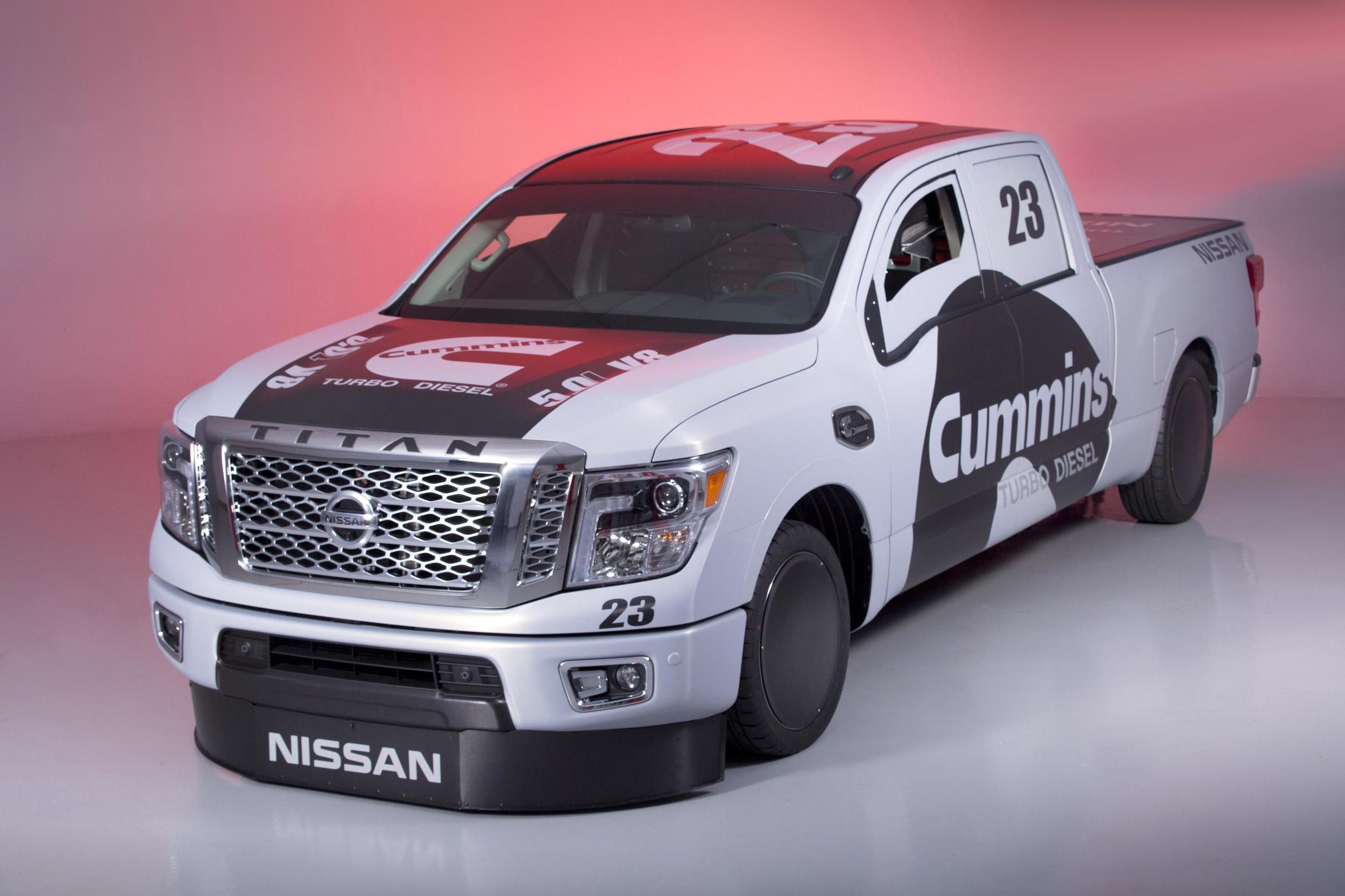 Nissan And Cummins Created The Nissan Titan XD Project Triple Nickel 1