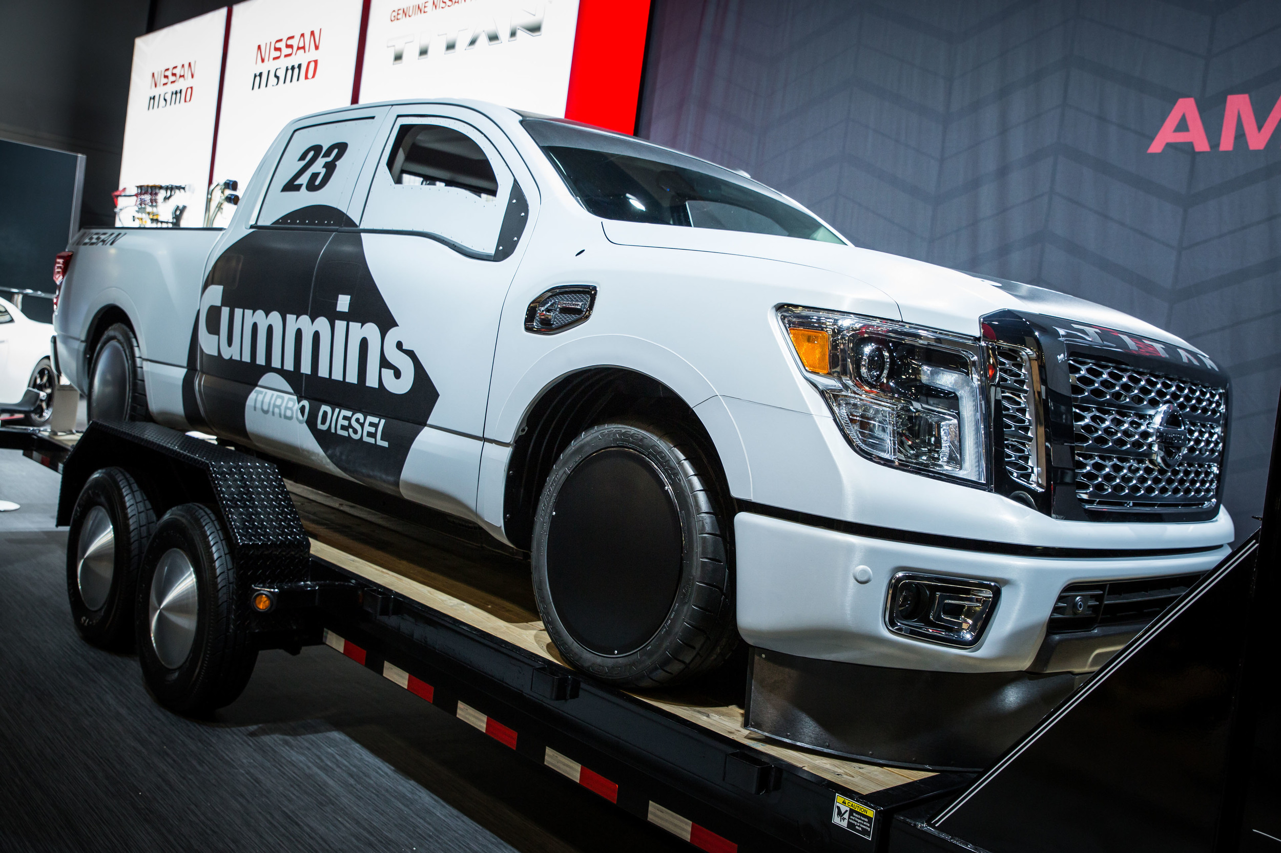Nissan And Cummins Created The Nissan Titan XD Project Triple Nickel 2