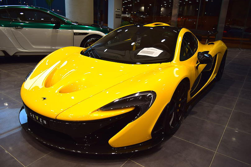 Remarkable Yellow McLaren P1 On Sale By Seven Car Lounge 3