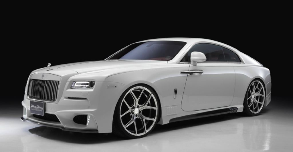 Rolls Royce Wraith Black Bison Edition By Wald International 1