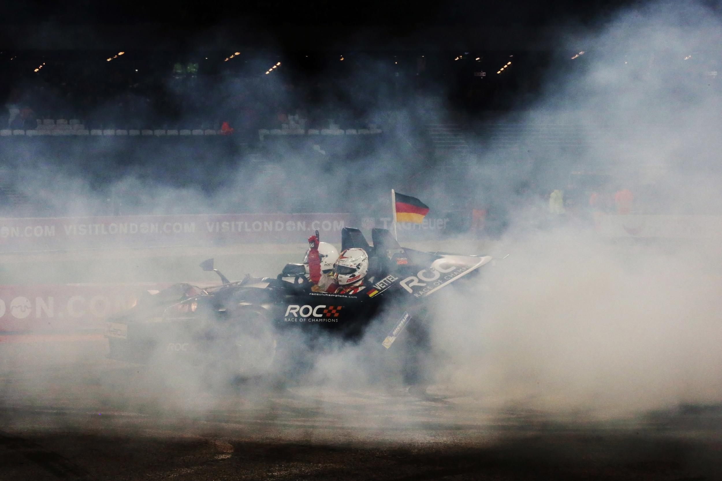 Sebastian Vettel 2015 Champion Of Champions 11
