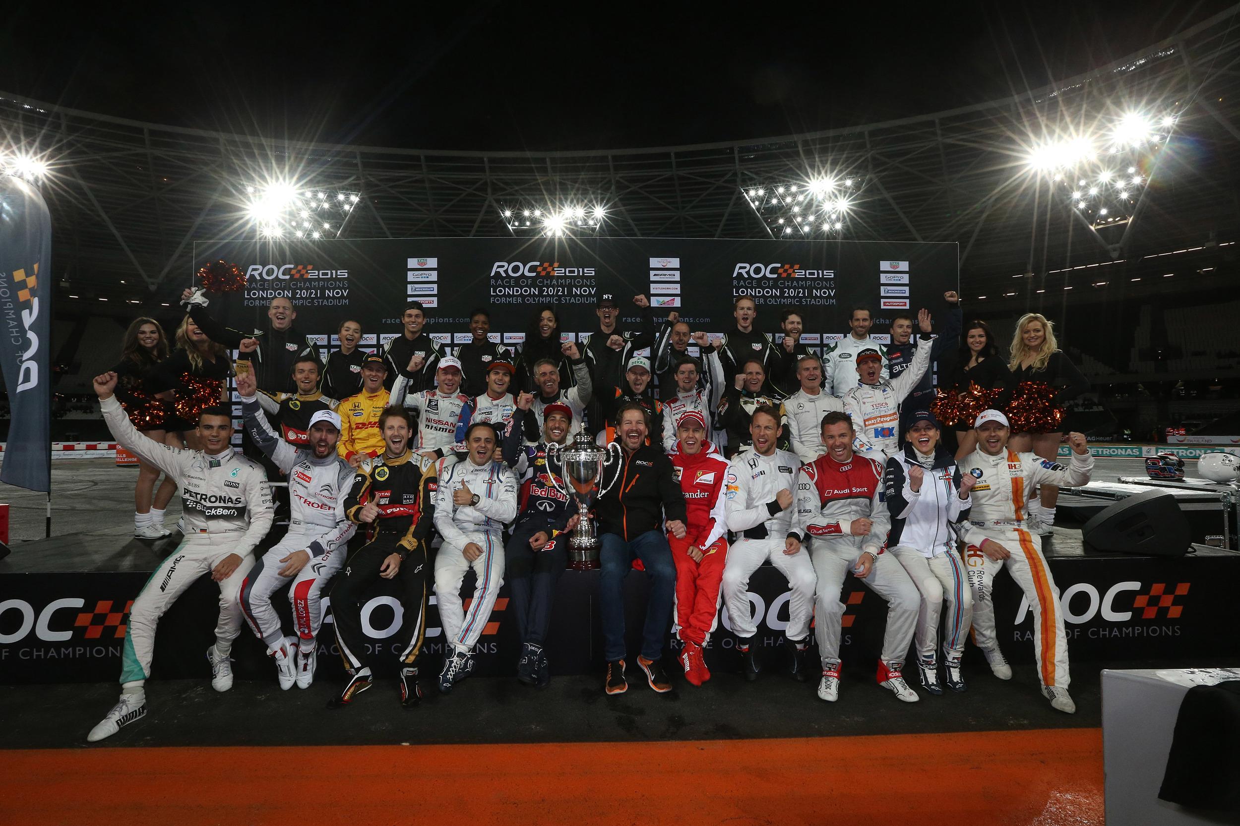 Sebastian Vettel 2015 Champion Of Champions 14