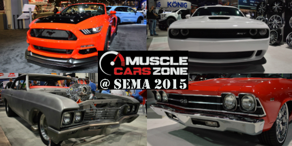 Musclecarszone Sema Show Walkaround Videos Photos More