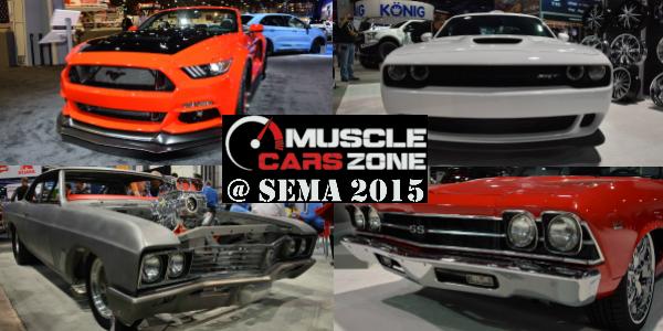 Sema 2015 Motor Show Las Vegas Videos Materials Photos Muscle Cars Zone