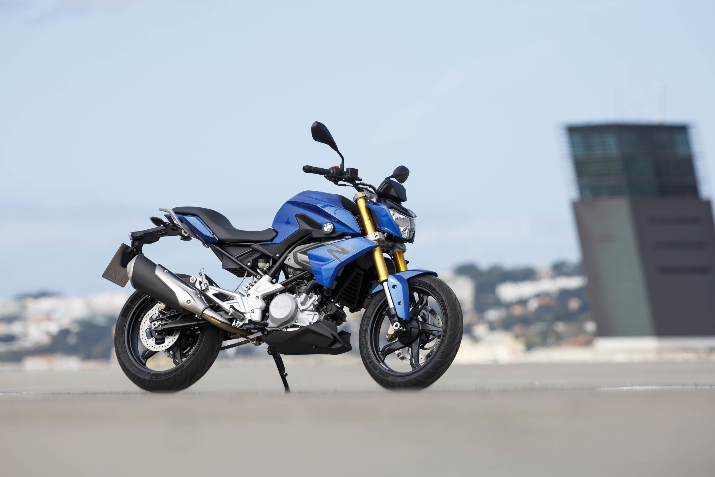 Single-Cylinder G 310 R Motorbike By BMW 1