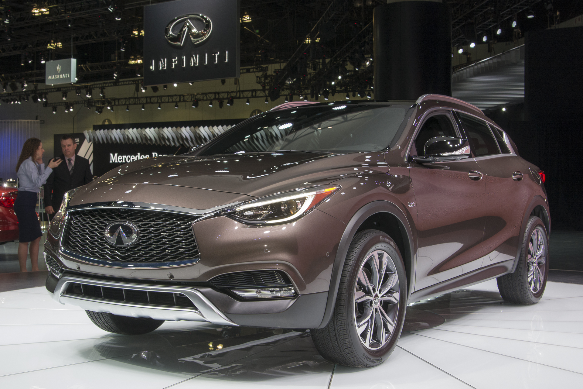 Stylish Yet Sporty 2017 Infinity QX30 1