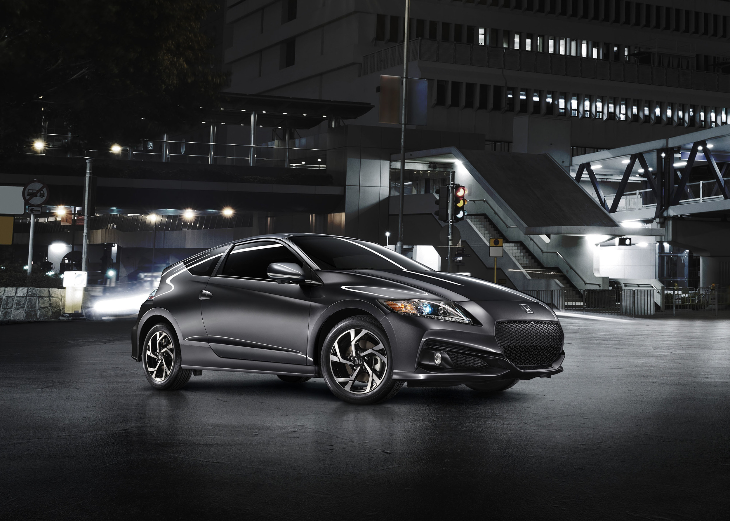 Tech & Exterior Tweaks For The 2016 Honda CR-Z 1