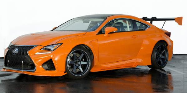 gordon ting Two Tweaked Lexus Orange Cars cover