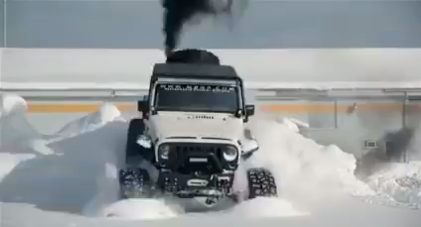 UTMOST SNOW KING NO OBSTACLE JEEP WRANGLER 4