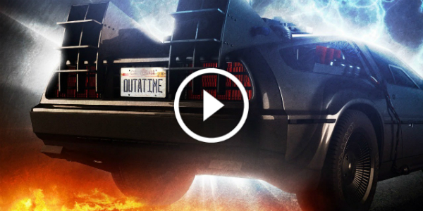 VIN DIESEL Driving The DeLorean From Back To The Future In His NEW MOVIE 17