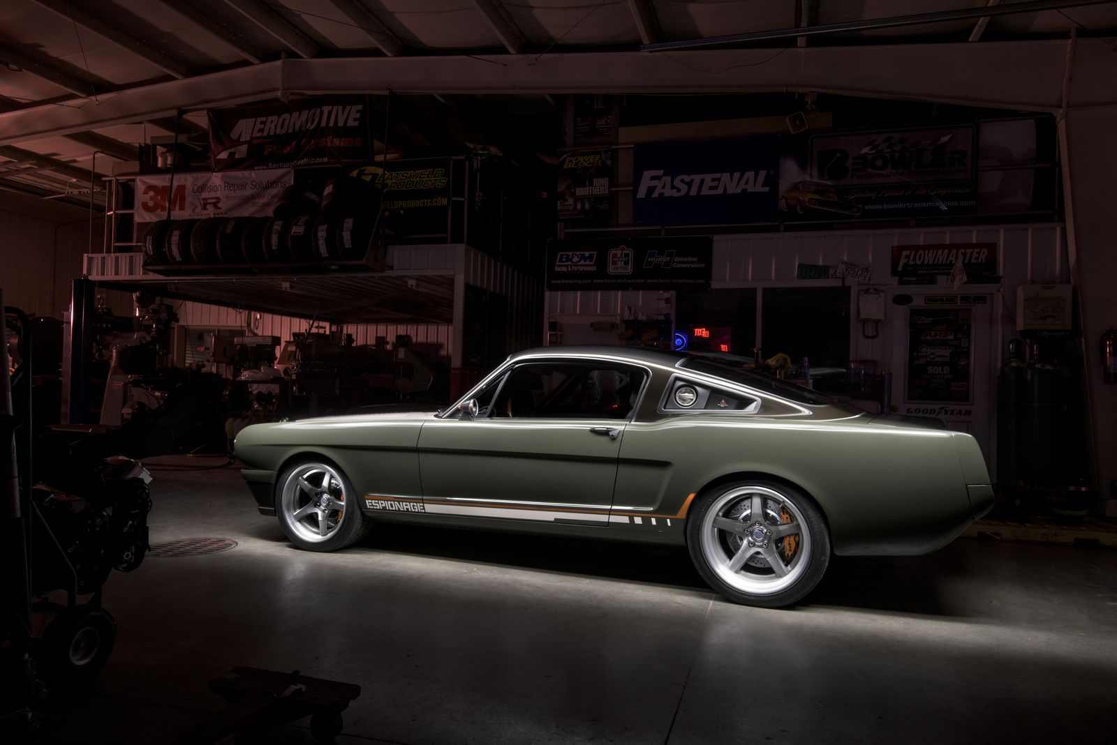 Espionage Mustang Fast Back Ringbrothers Muscle Cars Zone