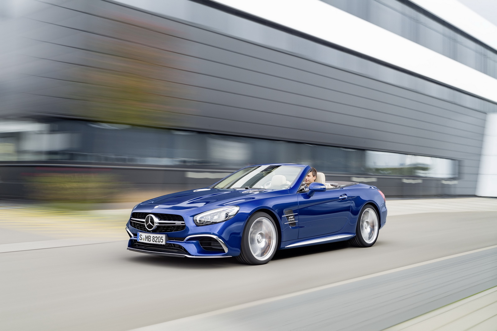 mercedes sl 2017 leak la debut 3