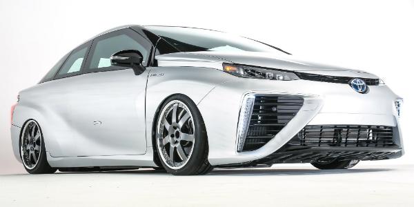 2016 Toyota Mirai Tacoma future sema