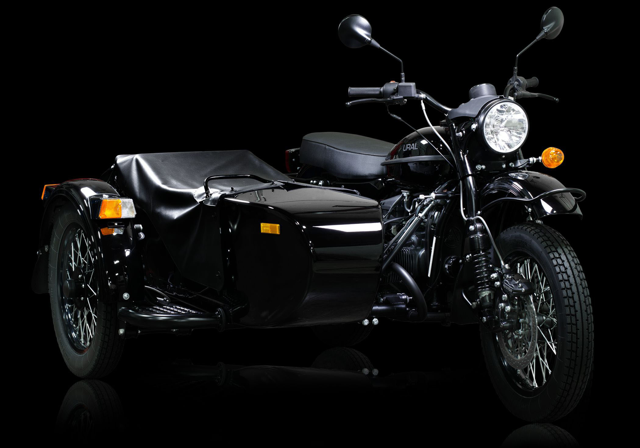 ural dark force darth vader motorcycle 1