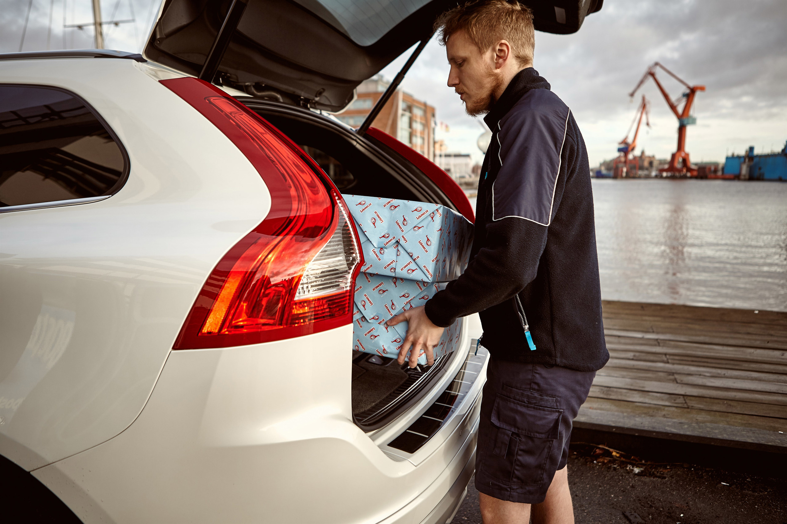 volvo in car delivery cover